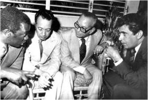 Peña  Gómez , Jorge Blanco , Ant. Guzman y Jacobo Majluta