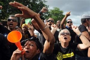 Dominican Republic Protest